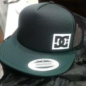 DC Green snapback